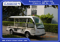 80km Range Electric Tourist Car With 4 Seats+1 Bed Passenger Capacity