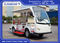 Sightseeing Battery Powered Electric Shuttle Car Transport Bus8 Seaters For Tourist