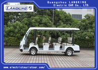 28km/H Small Electric Tour Bus , 5KM Motor 72V Battery  Electric Shuttle Vehicles