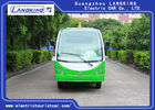 72v Controller 1.2 Ton Two Seater Electric Car , Electric Hotel Buggy Car With Cargo