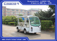 Sponge + Artificial Leather 8 Seater Electric Car / Electric Shuttle Bus