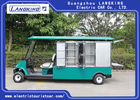 Two Seats Electric Cargo Truck With Roof / Stainless Steel Cargo Box