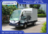 Balck Seats Electric Freight Car / Electric Truck Van with cargo loading 450KGS Max.Speed 28km/H