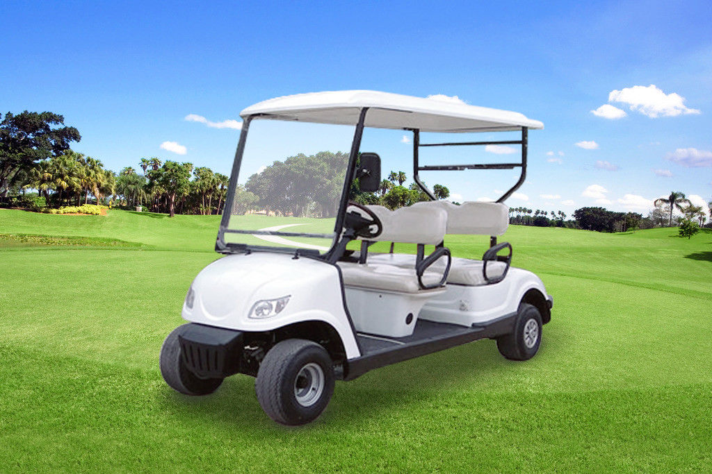Small Club Golf Buggy , Custom Club Car Golf Carts With PC Windshield