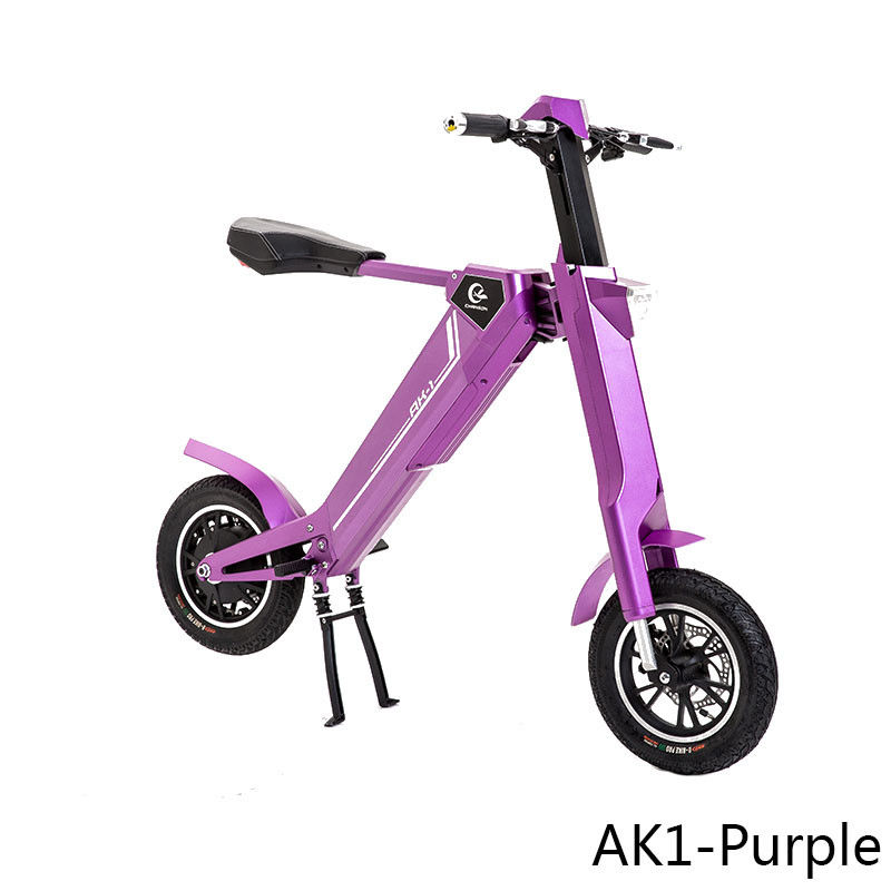 2 Wheel Stand Up Electric Scooter , Electric Sit Down Scooter For Adults