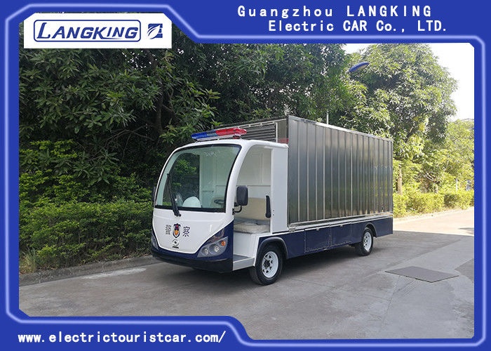 2 seats electric freight car /cargo van for electric van with tolight big cargo box